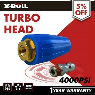 X-BULL New Washer Turbo Head Nozzle for High Pressure Water Cleaner 3000PSI