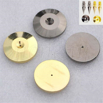 1/2/4X Speaker Cone Spike Isolation Stand Foot Base Pads Floor Discs 25mm*5mm