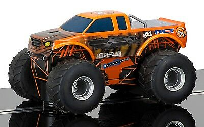 C3779 Scalextric Slot Car Orange Monster Truck Growler Livery Gift Toy New UK