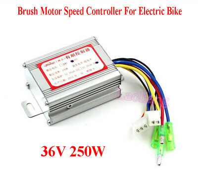 36V 250W Brush Motor Speed Controller Für Electric Bike E-bike Bicycle Scooter