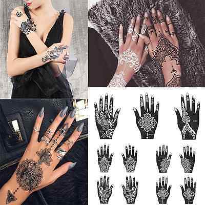 Lace transfer NEW black henna Hand Arm Henna Stencil Henna Art Temporary Tattoo