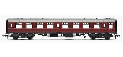 R4629 Hornby 00 Gauge Railroad BR Mk1 Tourist 2nd Open Coach - BR Maroon E4536