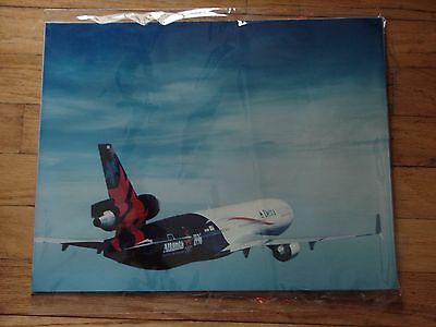 Delta Air Lines - Large Photo -  Delta  Md 11 - 1996 Olympic Livery - 20 X 16
