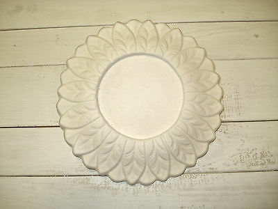 Leaf Plaster Ceiling Rose small 190mm  CP2a