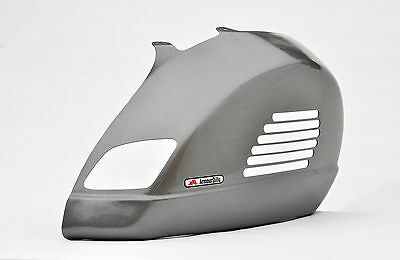 ArmourDillo Vespa GTS Full Rear Panel protection. Silver Metalic. Not Crash Bars
