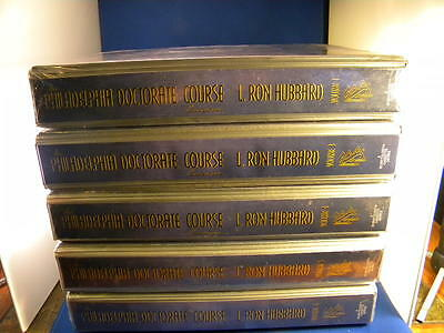 New & Sealed Philadelphia Doctorate Course By L. Ron Hubbard Volume 1,3,4,5,6