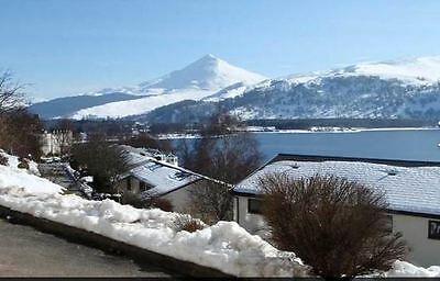 Loch Rannoch rental, 2-9th Feb 2017, 2 bed sleeps 6, great Loch views