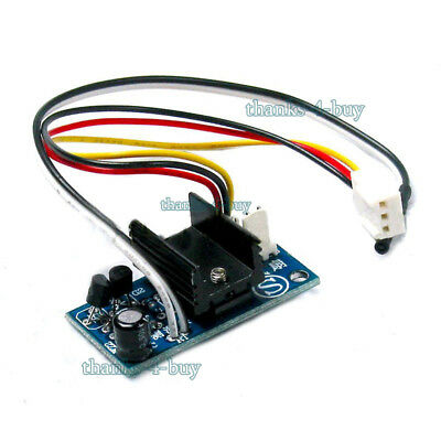 DC 12V 1A Automatic PC CPU Fan Temperature Control Speed Controller Noise Reduce