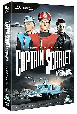 Captain Scarlet The Complete Collection: New DVD