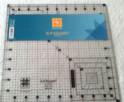 """Ez Simplicity Is It Square 10.5"""" Quilting Patchwork Crafting Template Brand New"""