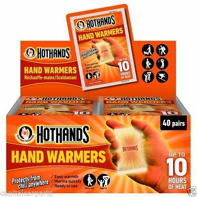 Hothands Hand Warmer Foot Warmer Disposable Pocket Glove in 1 2 3 5 6 10 20 Pack