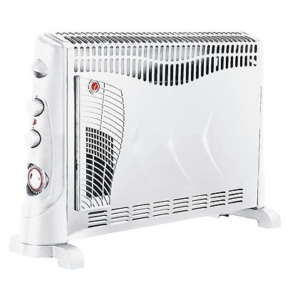 NEW!! 2kW Convector Heater - 3 Heat Settings, Turbo Mode and Timer