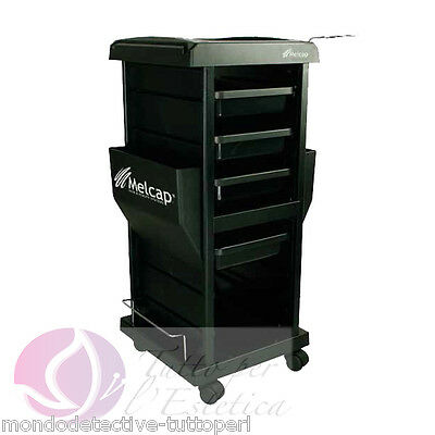 Cart Holder Accessories With 5 Drawers Carries Hair Dryer Hairdresser Hair