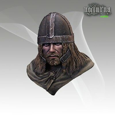 Nocturna Models Viking Raider Unpainted Resin 1/12th bust kit