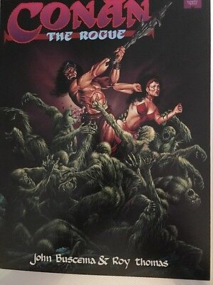 Conan The Rogue  Marvel Graphic Novel NM Very Rare