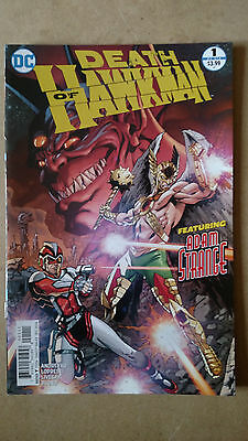 Death Of Hawkman #1 First Print Dc Comics (2016)