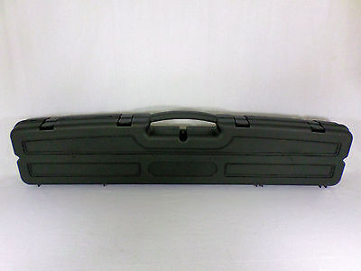 Condition 1 Rifle Case #633 with Convoluted Foam Padding and Lockable Base