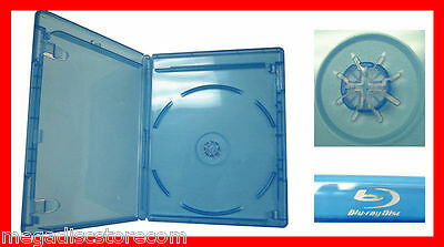 10 Pk Blu-Ray VIVA ELITE Cases with Logo Single Disc NEW