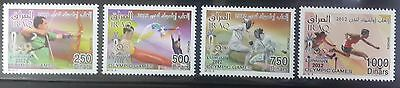Iraq 2012 Complete set 4v. MNH - London Olympic Games