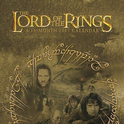 2017 THE LORD OF THE RINGS Calendar 12 x 12