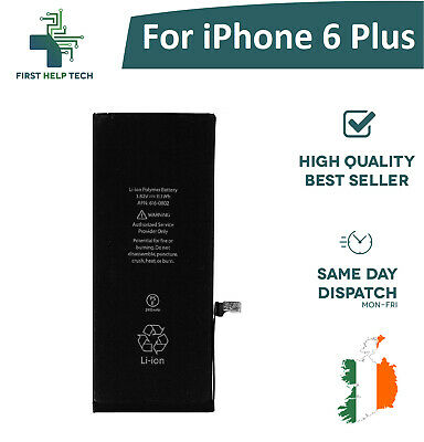 Brand New Internal Replacement Battery for Iphone 6 + PLUS 2915mAh 3.82V