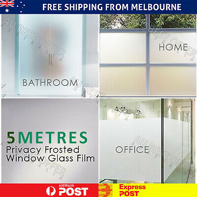 90cm*5m Sand Blast Clear  Frosted Frosting Window Glass Film Removable