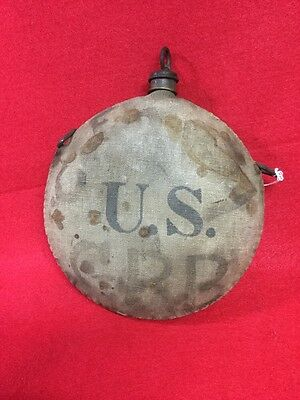 Original Indian War  U.s. Canteen 1870's *** With  Cork Stopper & Cover
