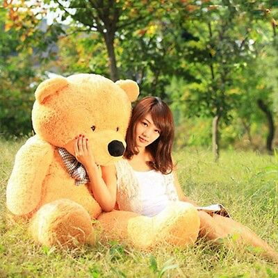 """71"""" 180cm 5.9ft Giant Teddy Bear CASE UNFILLED NO PP COTTON Baby Stuffed Toy"""