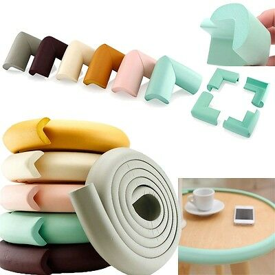 Baby Safety Table Edge Corner Cushion Guard Strip Softener Bumper Protector Fast