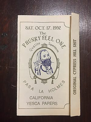 Vintage 90s Cypress Hill FIRST LA SHOW Flyer 1992 Phunky Feel One Party Crew