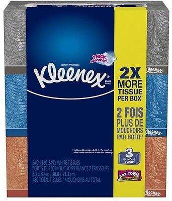 Kleenex Facial Tissue Strong Soft and Absorbant Box Cover Holder Decorative