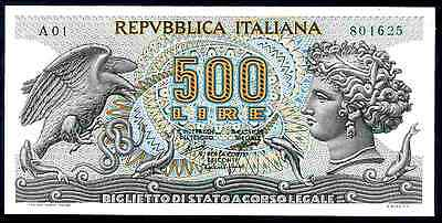 Italy. 500 Lire, A01 801625, 20-6-66, Good Very Fine.