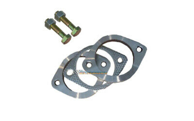 """2"""" 51Mm Stainless Steel 2 Bolt Exhaust Flange Plate Set Kit"""