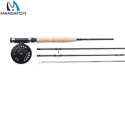 Maxcatch 5WT Fly Rod and Reel Combo Graphite Freefly Fly Fishing Rod And Reel