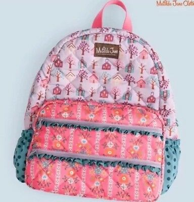 Matilda Jane Charm School Backpack Once Upon A Time NWT