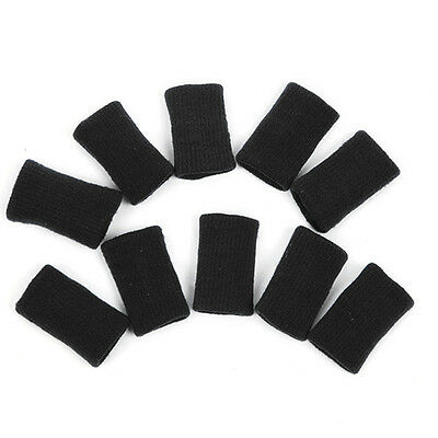 10pcs Stretchy Protective Gear Finger Guard Bands Bandage Support Wraps Arthriti