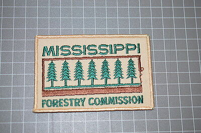 Mississippi Forestry Commission Patch (B17)