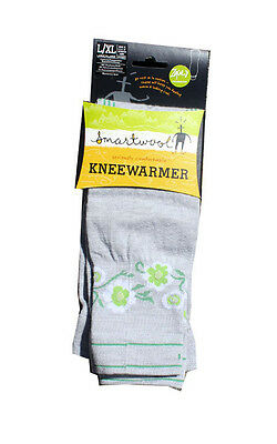 Smartwool cycling knee warmer size S/M or L/XL Blue or Gray New
