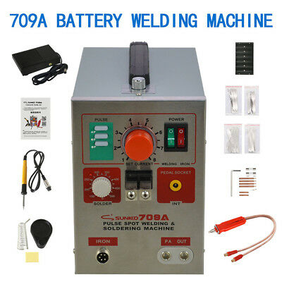 709A Spot Welder Welding Machine  For Mobile Phone Battery Pac Notebookhand-Held