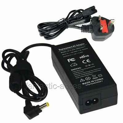 AC Adapter Charger for Acer Aspire V5 V3 E1 Series Laptop Power  Cord 65W