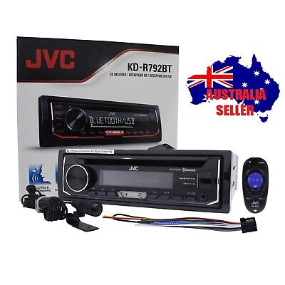 JVC KD-R881BT CD USB AUX IN BLUETOOTH Car Radio Stereo Receiver Player
