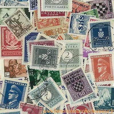 Collection de timbres Croatie Avant 1945 oblitérés