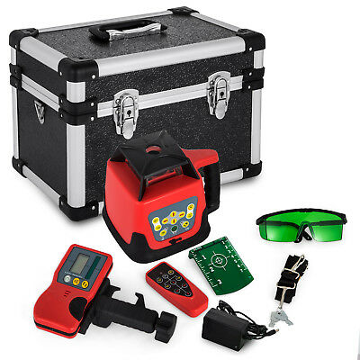 Automatic Green Rotary Laser Level Self Rotating Cross Line Leveling Outdoor