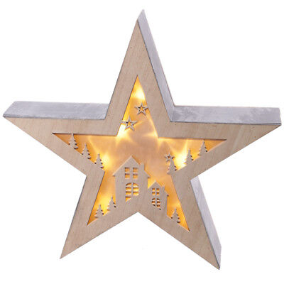 Puckator Led Star Light Decoration Christmas House Free Standing Wall Mounted