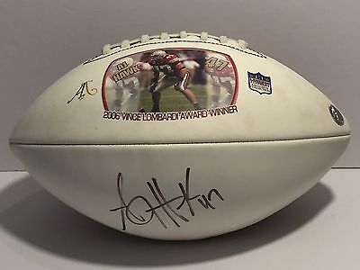 AJ HAWK AUTOGRAPHED SIGNED OSU OHIO STATE BUCKEYES LOGO Legends  FOOTBALL