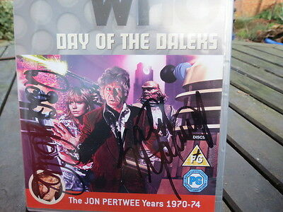 Doctor Who - Day of the Daleks  DVD signed & autographed Katy Manning & Franklin
