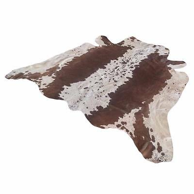 Cowhide Skin Textured Leather Pure Cow Rug Area Rugs Carpet 56 Inches*59 Inches