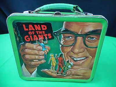 Original1968 Land Of The  Giants Lunchbox  By Alladin Industries Inc