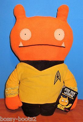 Star Trek Ugly Doll Wage as Captain Kirk NEW WITH TAGS