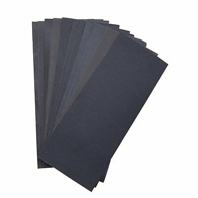 Abrasive Dry Wet Waterproof Sandpaper Sheets Assorted Grit of 400/ 600/ 800/ for